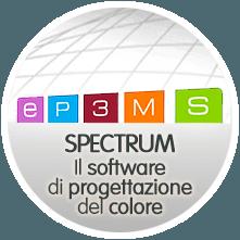 Clicca qui per utilizzare Spectrum il software di progettazione colore